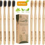 pack 10 cepillos dientes bambú | Beau-Pro