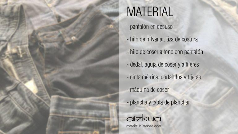 material tote bag barcelona by aizkua