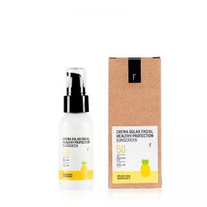 Crema Solar Facial Healthy Protection SPF50 50ml | Freshly Cosmetics