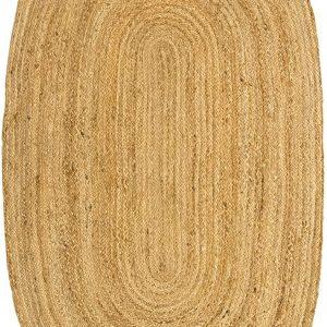 Alfombra de Yute Ovalada | 90x150cm